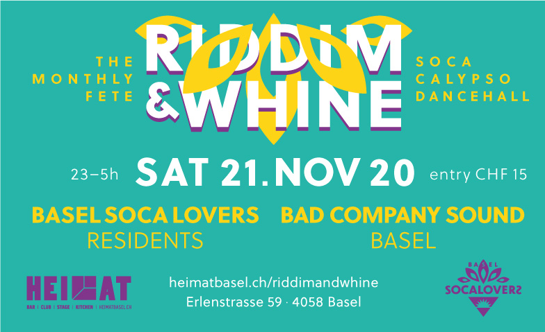 Riddim & Wine #11 HEIMAT - Bar, Club, Stage, Kitchen Tickets