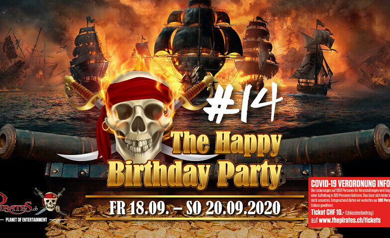 The Happy Birthday Party The Pirates, Hinwil Tickets