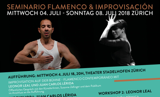 Seminario flamenco & improvisación MIMOS - Verein SKKZ Tickets