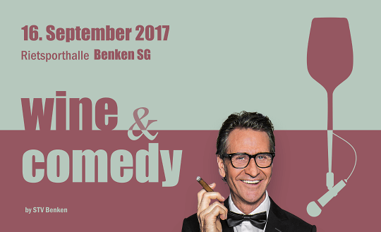 Wine & Comedy Tickets