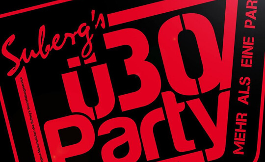 Suberg's ü30 Party - Rostock StadtHalle Rostock Tickets