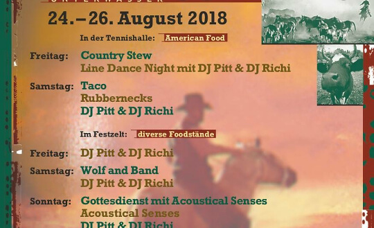 Country City Toggenburg 2018 Tennishalle Unterwasser Tickets