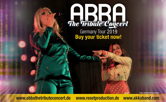 ABBA - THE TRIBUTE CONCERT Stadthalle Neukloster Tickets