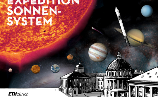 Expedition Sonnensystem ETH Zürich focusTerra Tickets