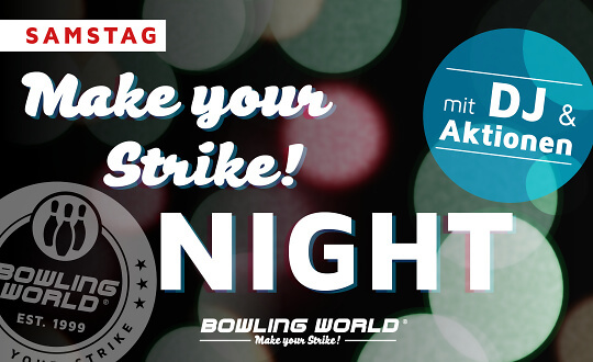 Cosmic Bowling Bowling World Lübeck Tickets