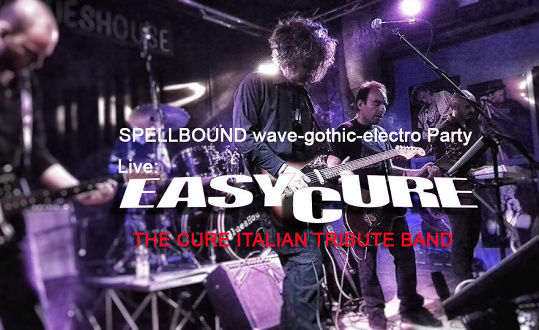 EASY CURE (it) wave-gothic-electro Party Musigburg Tickets