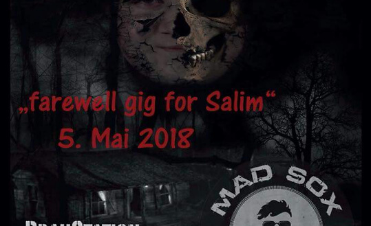 Bloody Horseface live, farewell gig for Salim BrauStation Sursee Tickets