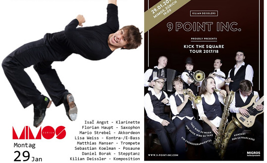 "9-Point-Inc. - ""kick the square"" MIMOS - Verein SKKZ Tickets"