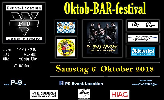 Okto-BAR-Festival P9 Event-Location Tickets